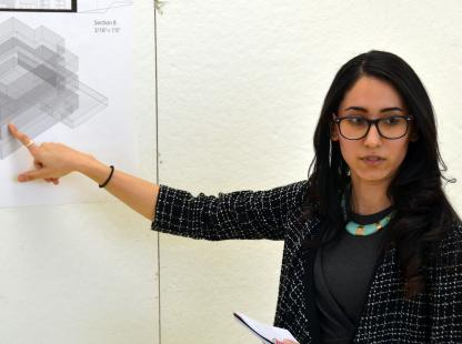 FourthYear Interior Design Student Nora Gharib